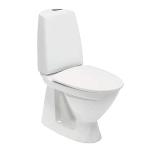 Toilet i hvid